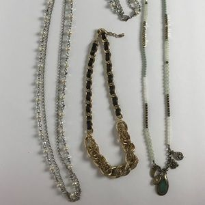 Jewelry - 3 Necklaces. 1 Price for all